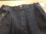 Mieke jeans broek met elastiek_