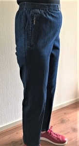 Mieke jeans broek met elastiek